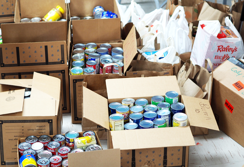 Canned food drive gives back to community – The Bear River Current